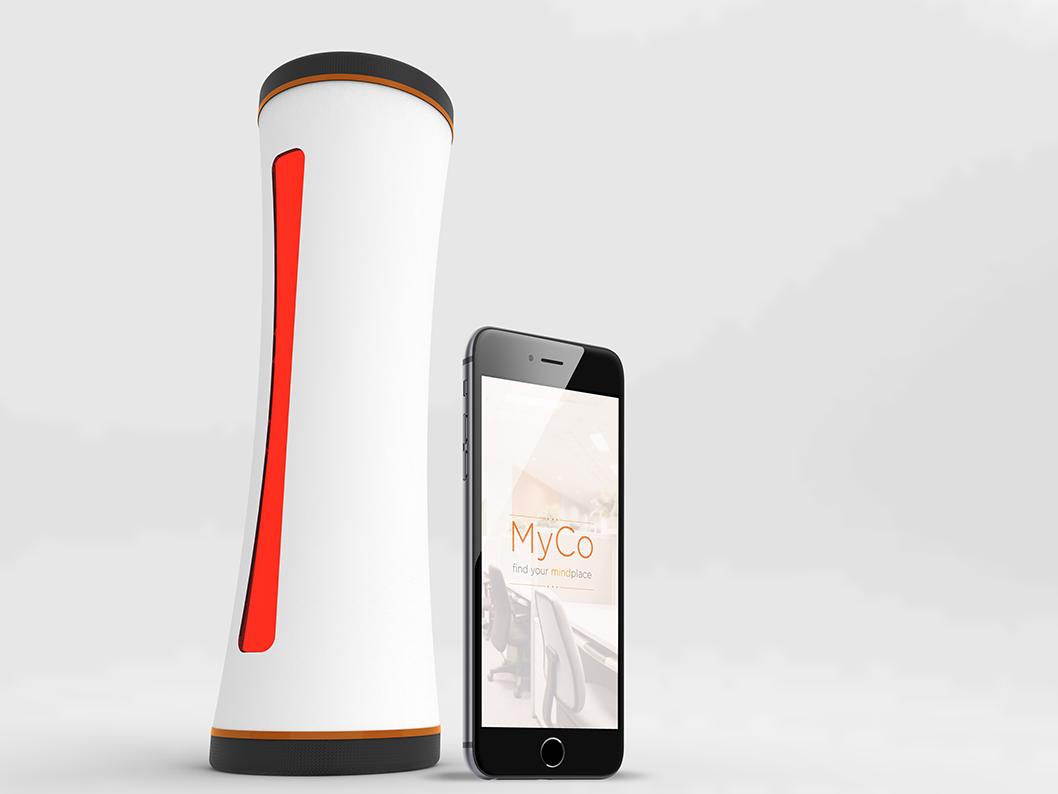 Felvänd, the device & MyCo, the app